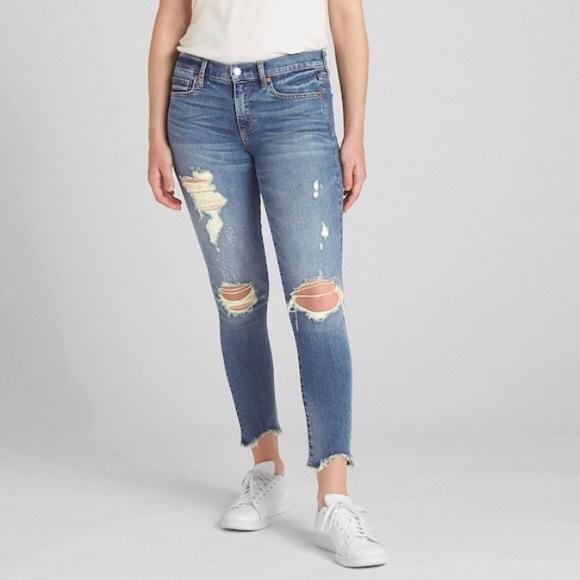 GAP Denim - Gap high rise skinny jeans